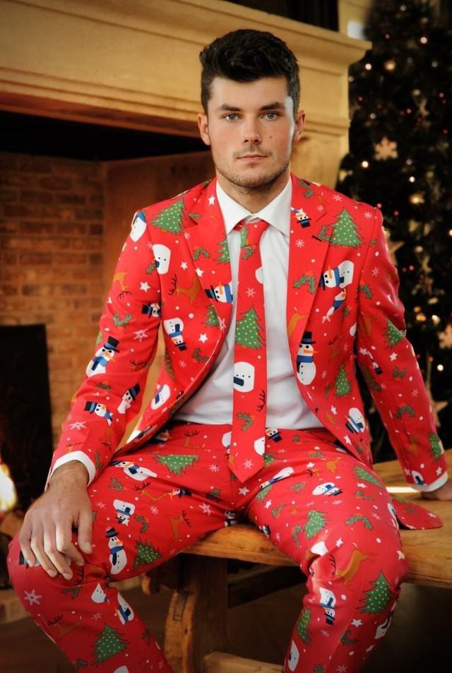 мужской новогодний костюм