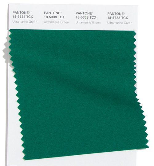 Ultramarine Green.