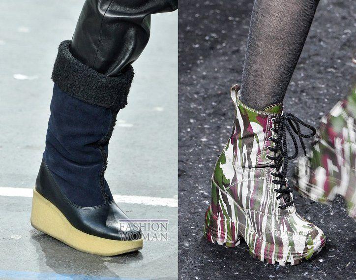 модная женская зимняя обувь