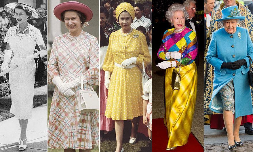 Образы королевы Елизаветы II