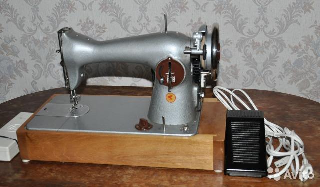 Швейная машина с электрическим приводом