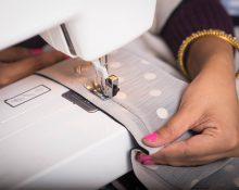 Как закрепить концы строчек на швейной машинке
