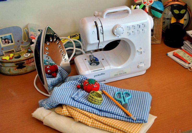 Инструменты и оборудование для шитья