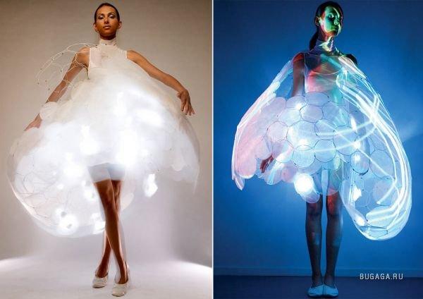 Светящееся настроением платье