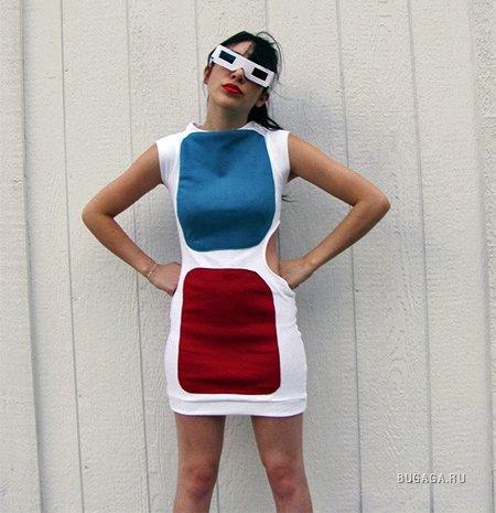 """Платье """"3D очки"""""""
