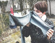 как избавиться от неприятного запаха джинсов