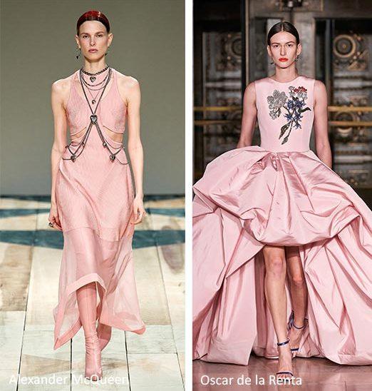 Розовая одежда.