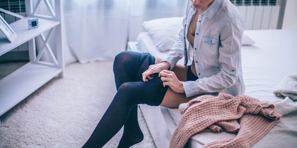 Колготки под джинсы зимой