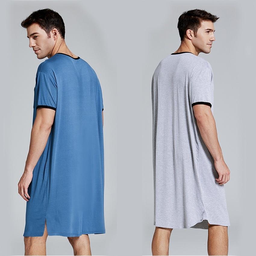Ночная рубашка на мужчине