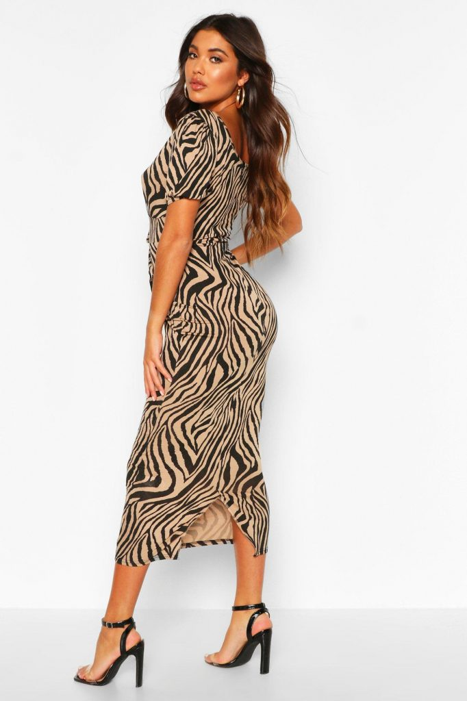 платье мидакси