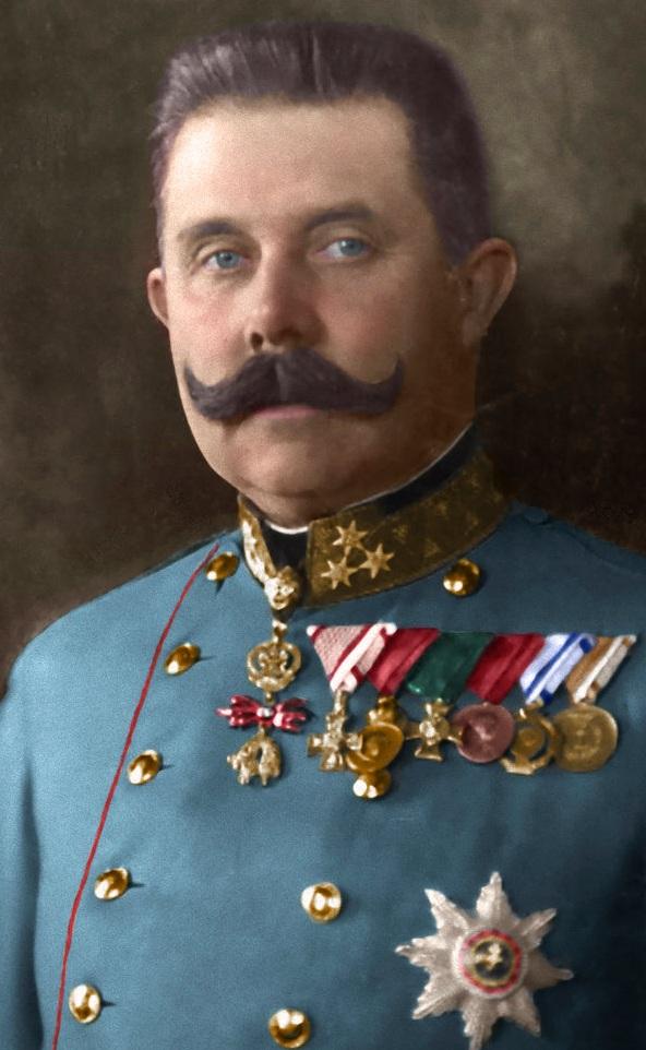 Франц Фердинанд в мундире