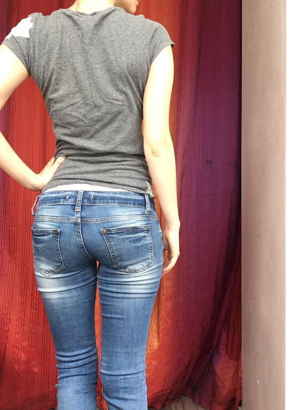 джинсы с низкой талией