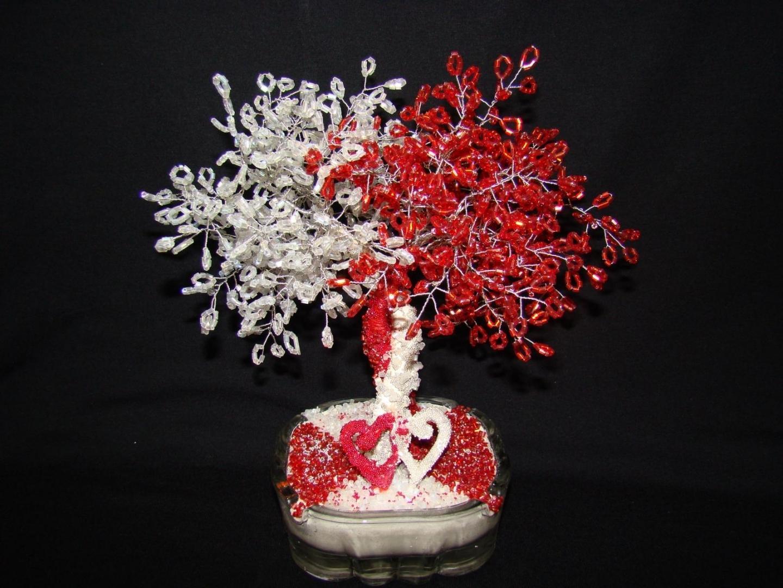бисерное дерево фото