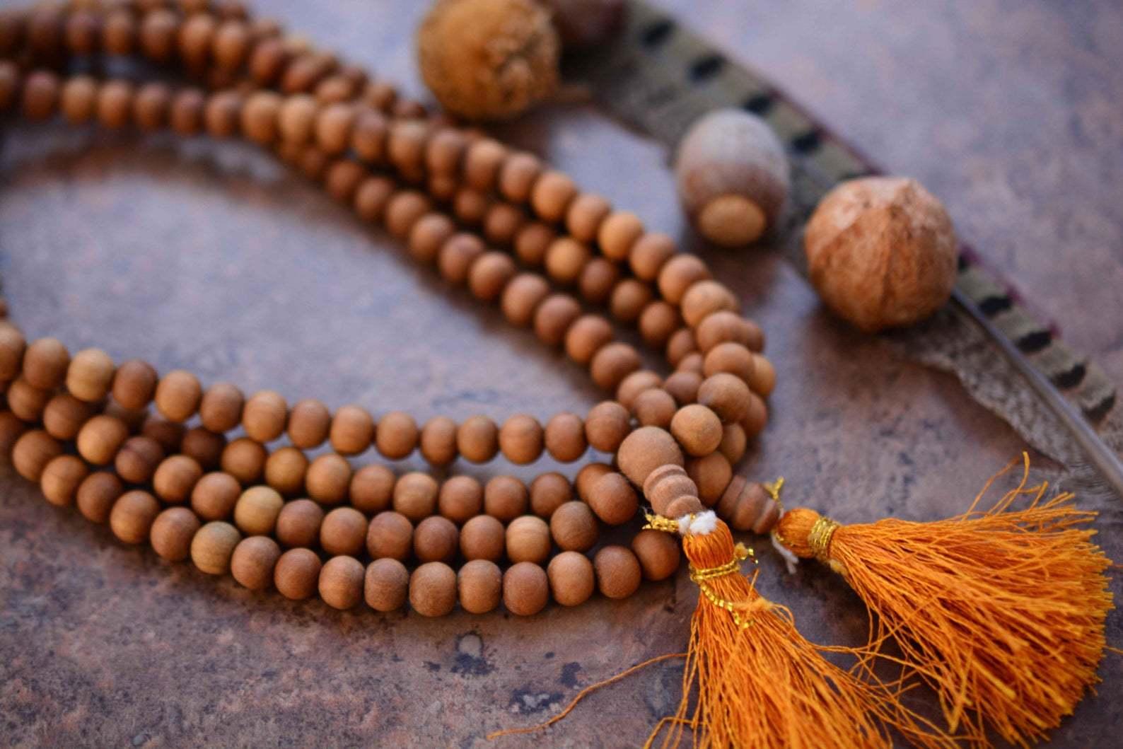 индуистские четки сколько бусин
