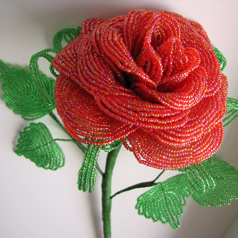 роз аиз бисера своими руками