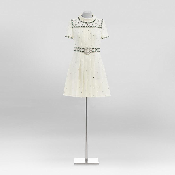 Винтажное платье из коллекции беренда Miu Miu