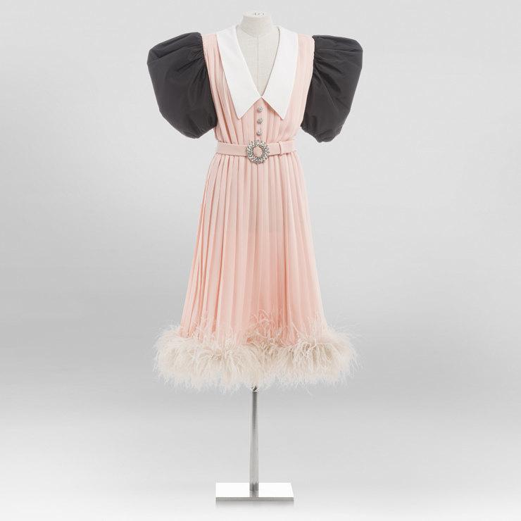 Винтажное платье из коллекции бренда Miu Miu