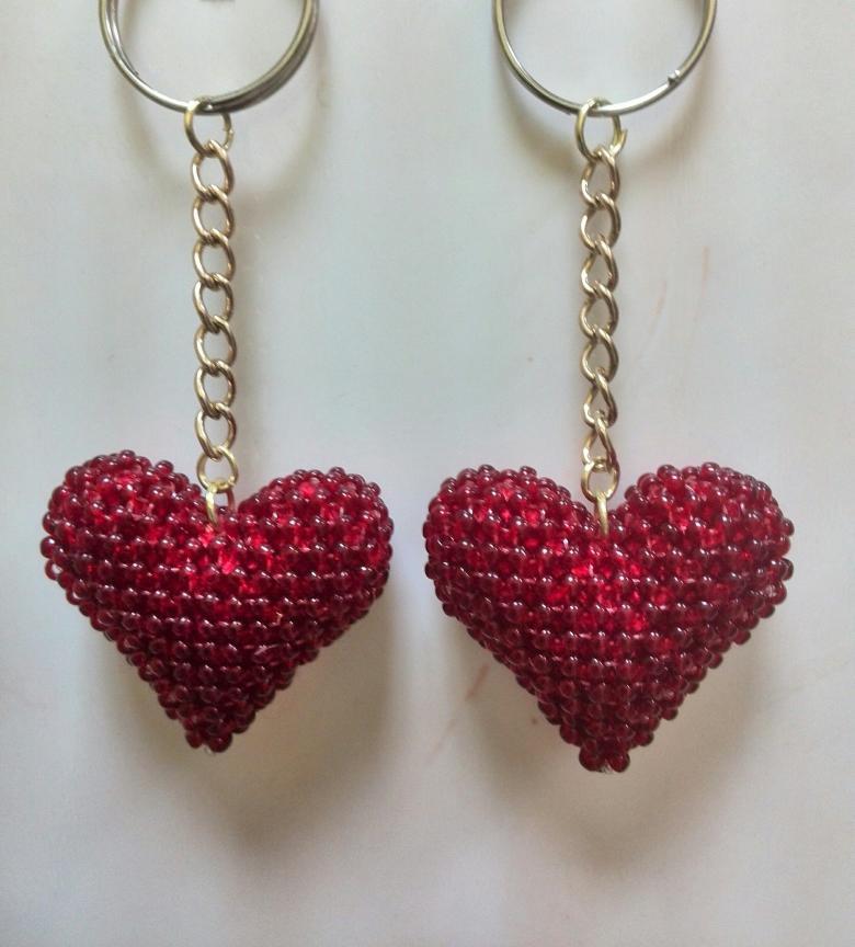 бисерное сердце