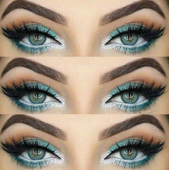 тени в цвет глаз
