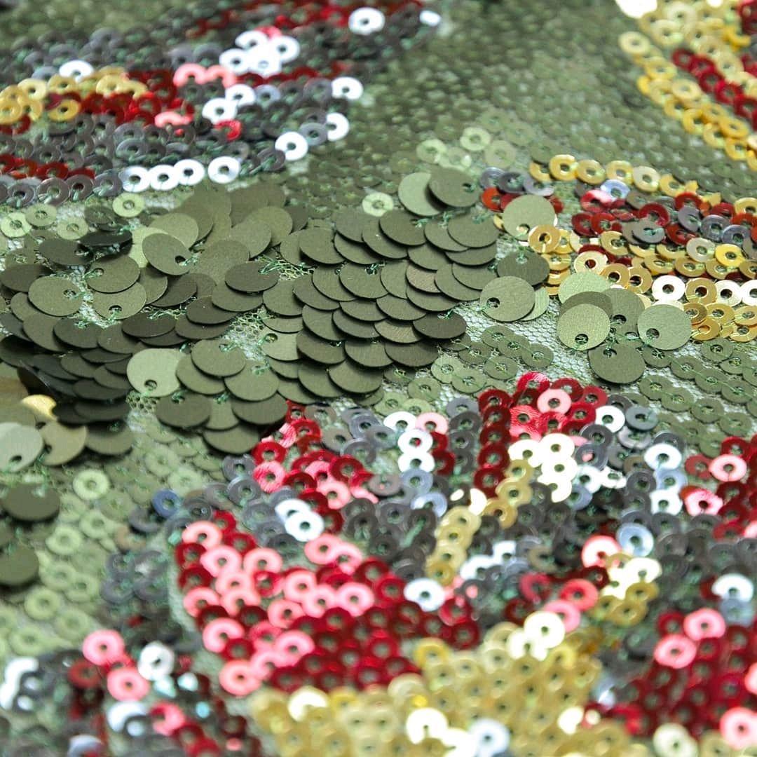 вышивка пайетками