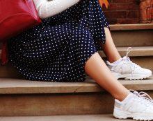 выбор обуви под юбку