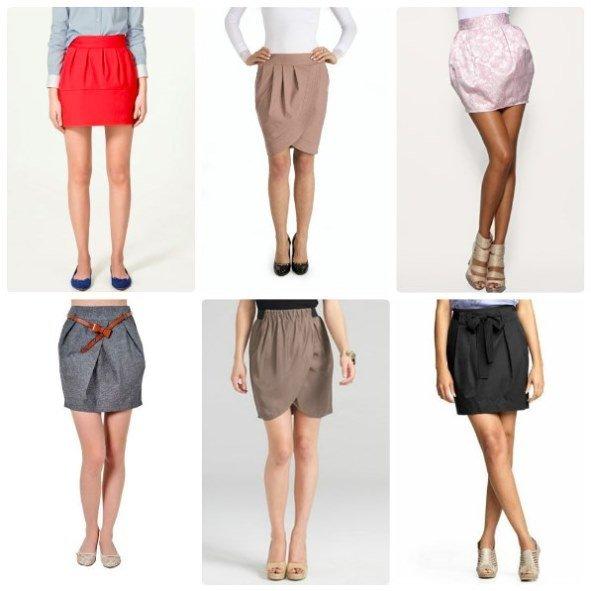 обувь для юбки-тюльпан