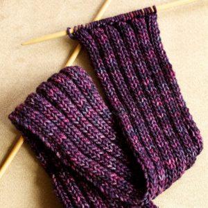 шарф резинкой