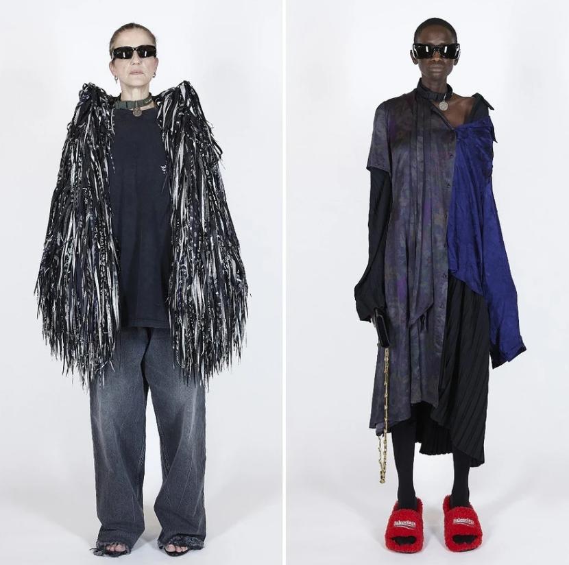 Одежда в стиле апсайклинг от Balenciaga