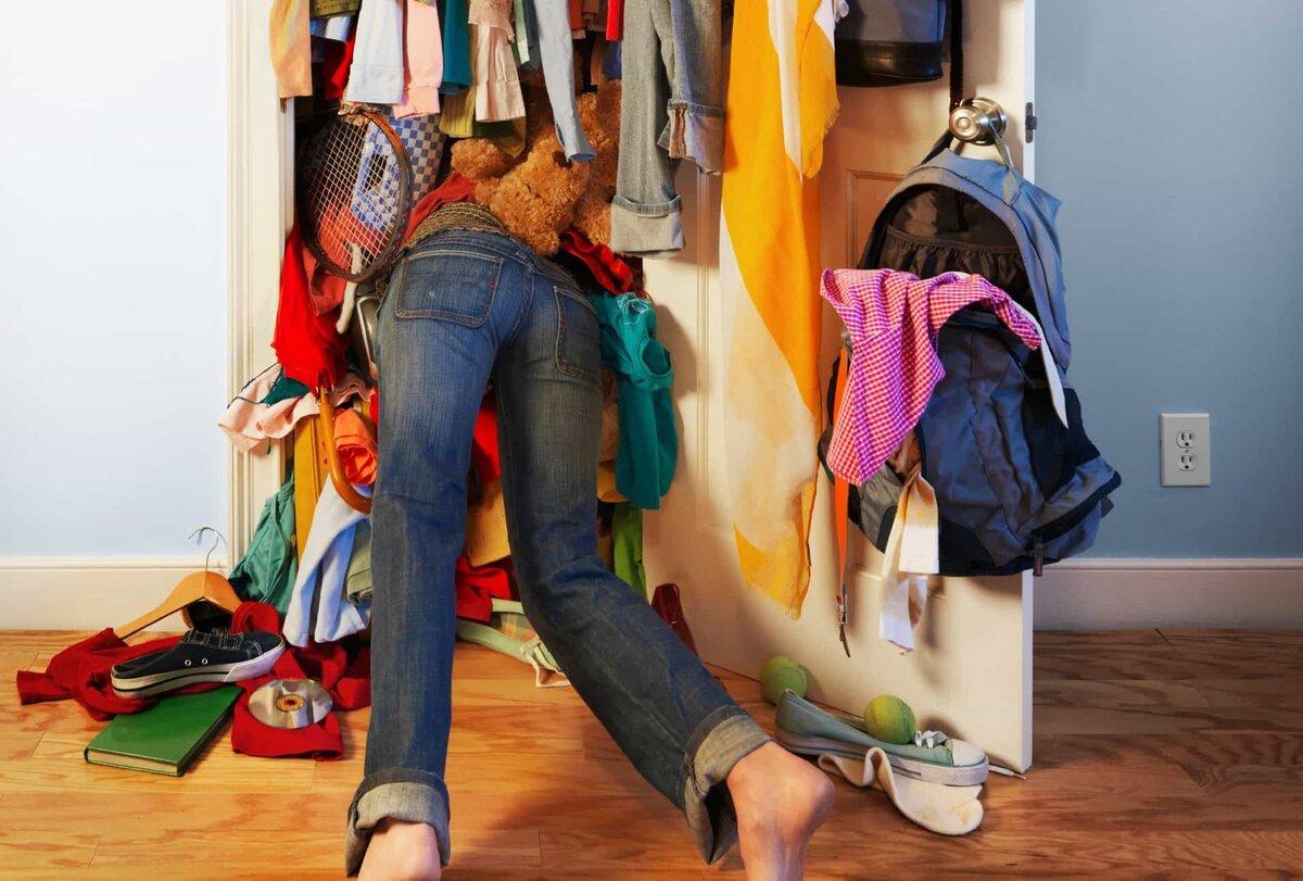 Неудобный гардероб