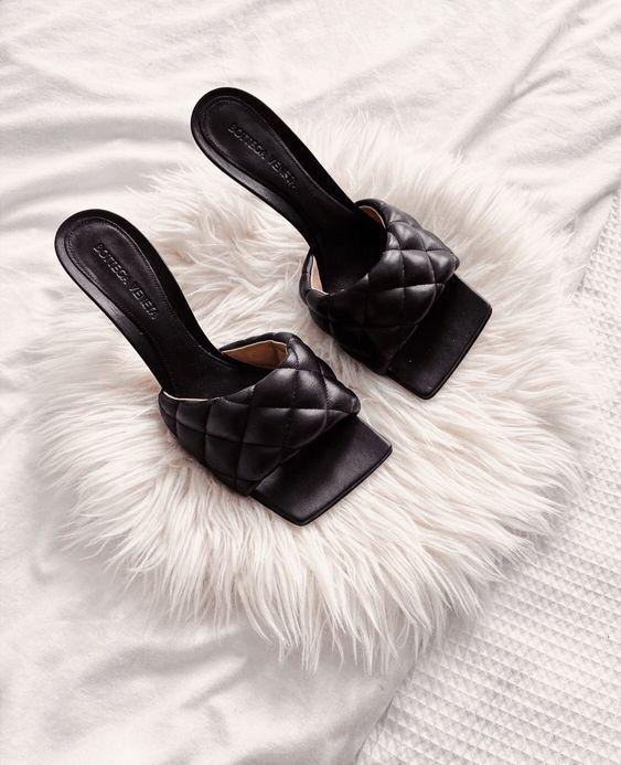 Стёганая обувь