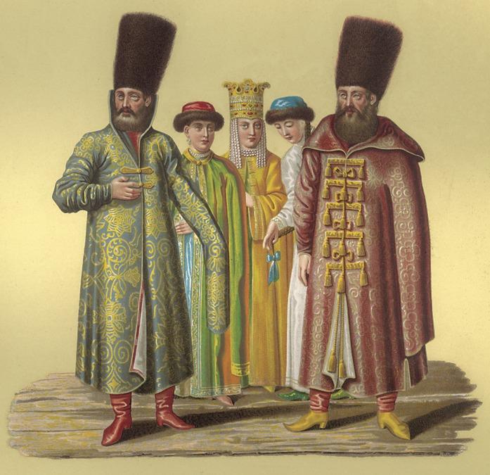 Боярский наряд.