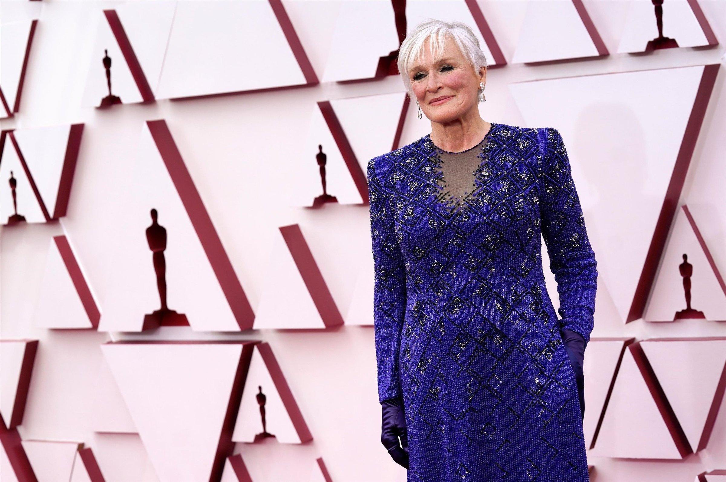 Гленн Клоуз на премии Оскар-2021