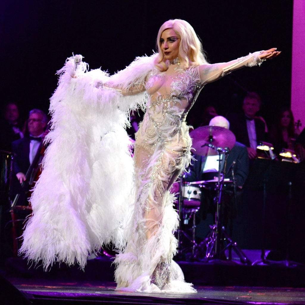 Джазовый образ Леди Гага