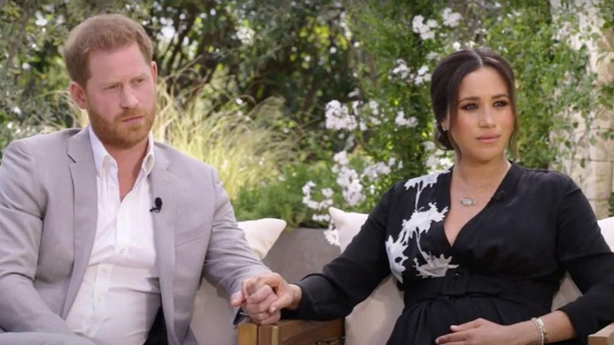 Меган маркл на интервью с принцем Гарри