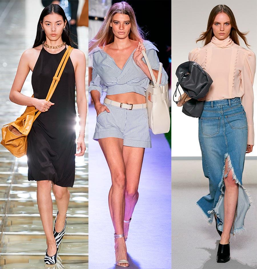 Огромные женские сумки снова в моде