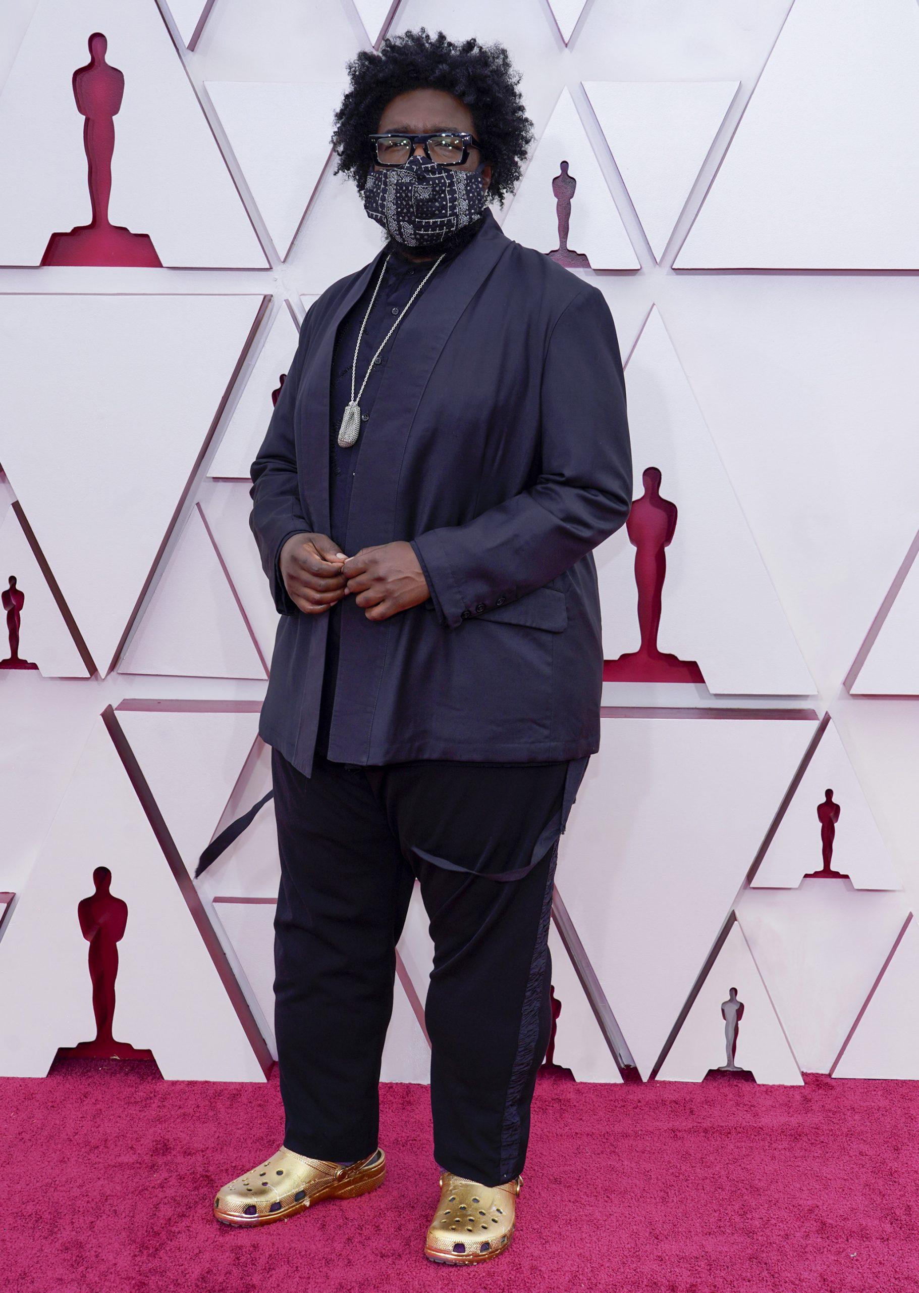 Questlove на премии Оскар-2021