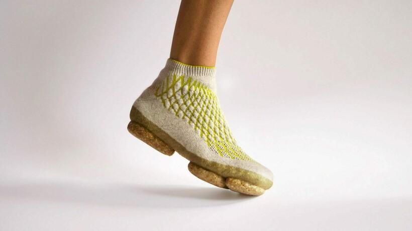 Кроссовки из грибов