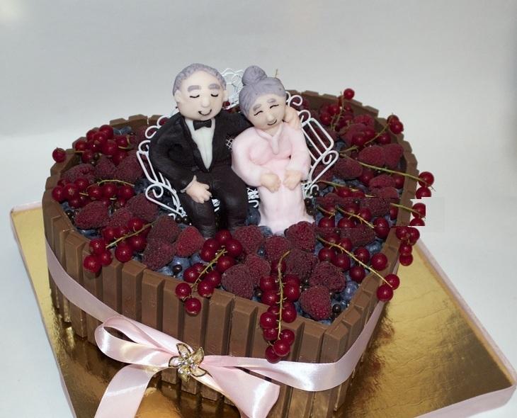 торт на годовщину свадьб