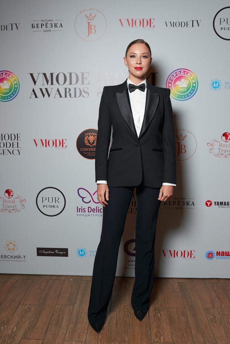 Полина Диброва на премии VMODE 2021