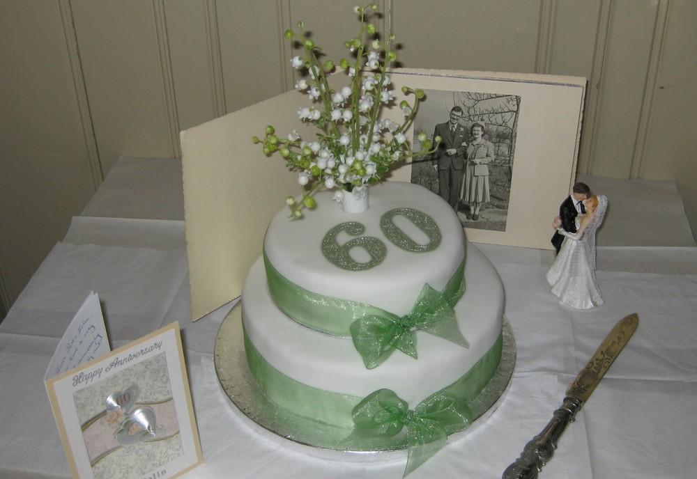 торт на 60 лет свадьбы