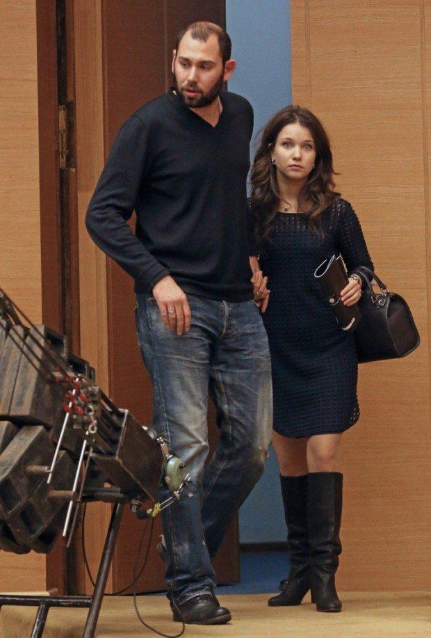 Семён Слепаков с женой Кариной