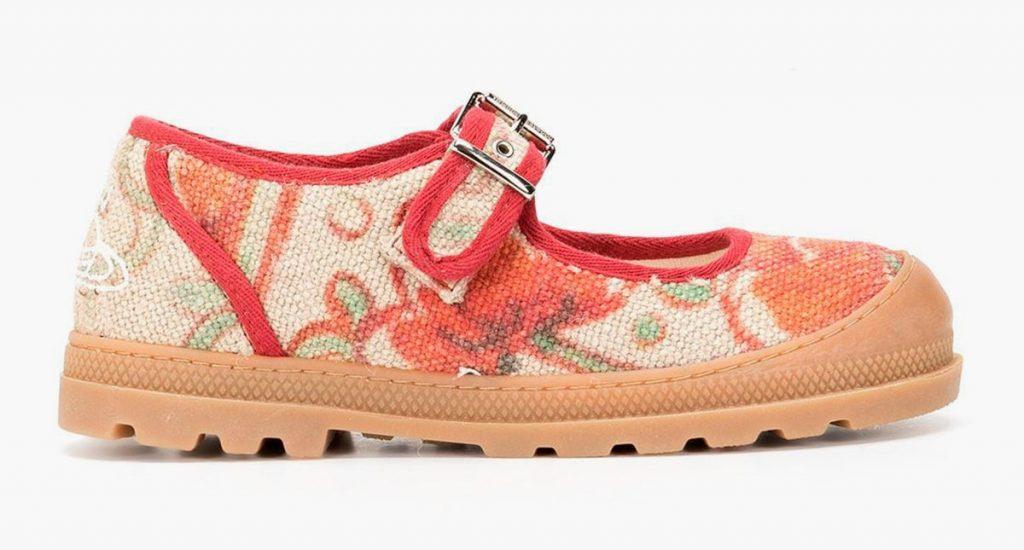 Башмаки с цветочным принтом от Vivienne Westwood