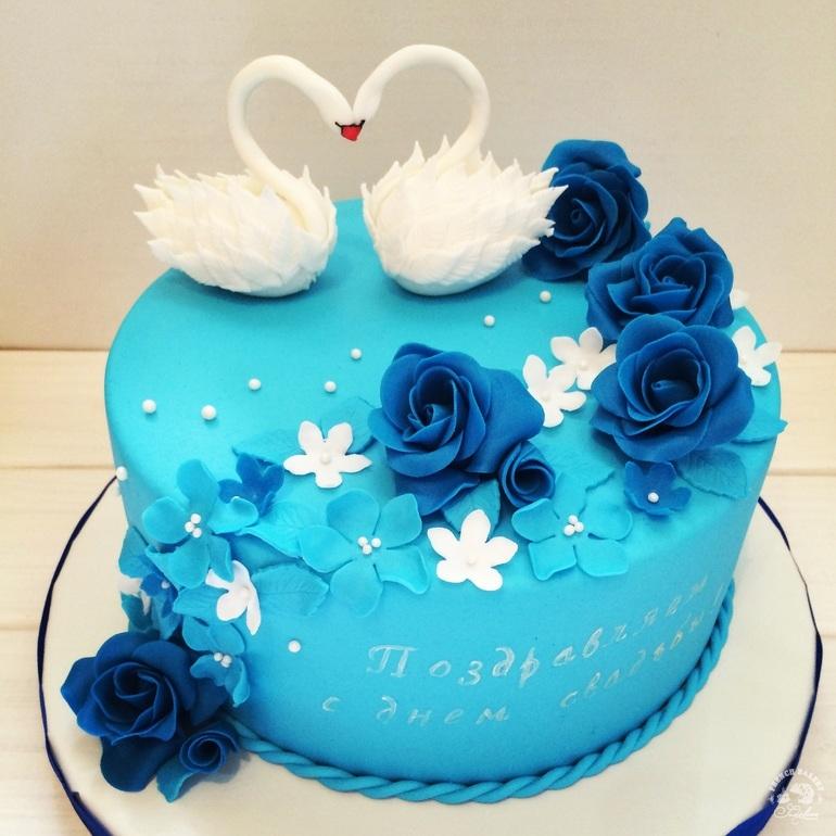 торт на 16 лет свадьбы