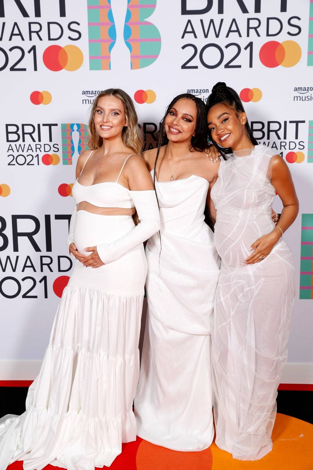 Группа Little Mix на премии BRIT Awards 2021