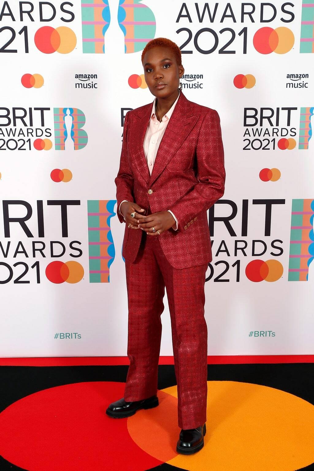 Арло Паркс на премии BRIT Awards 2021