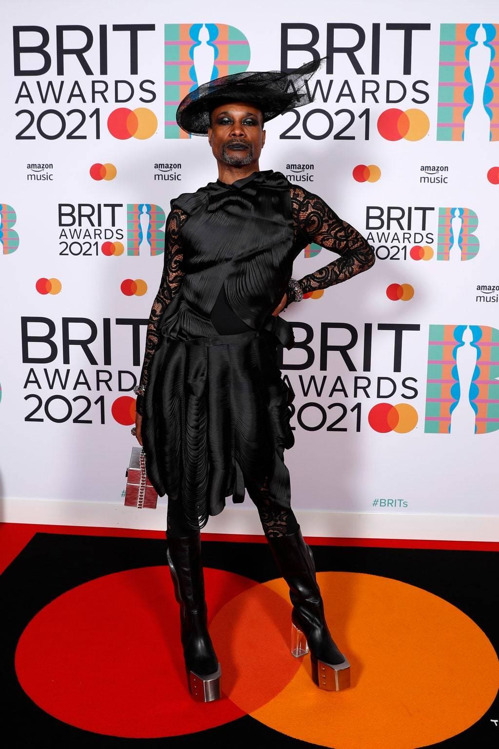 Билли Портер на премии BRIT Awards 2021