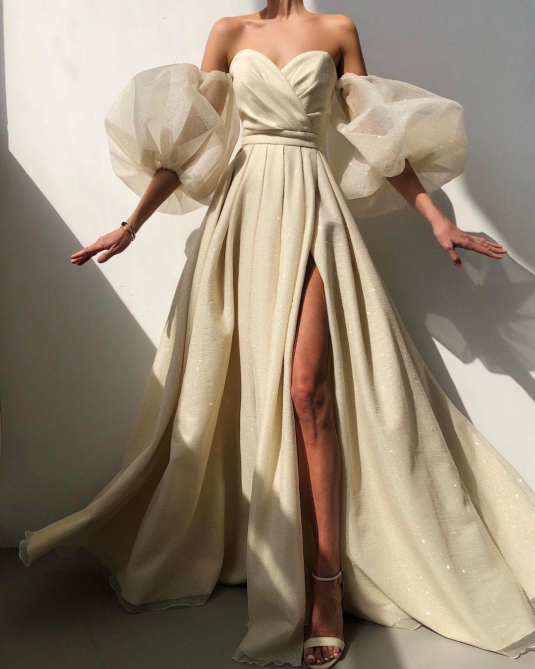 Платье принцессы на выпускной