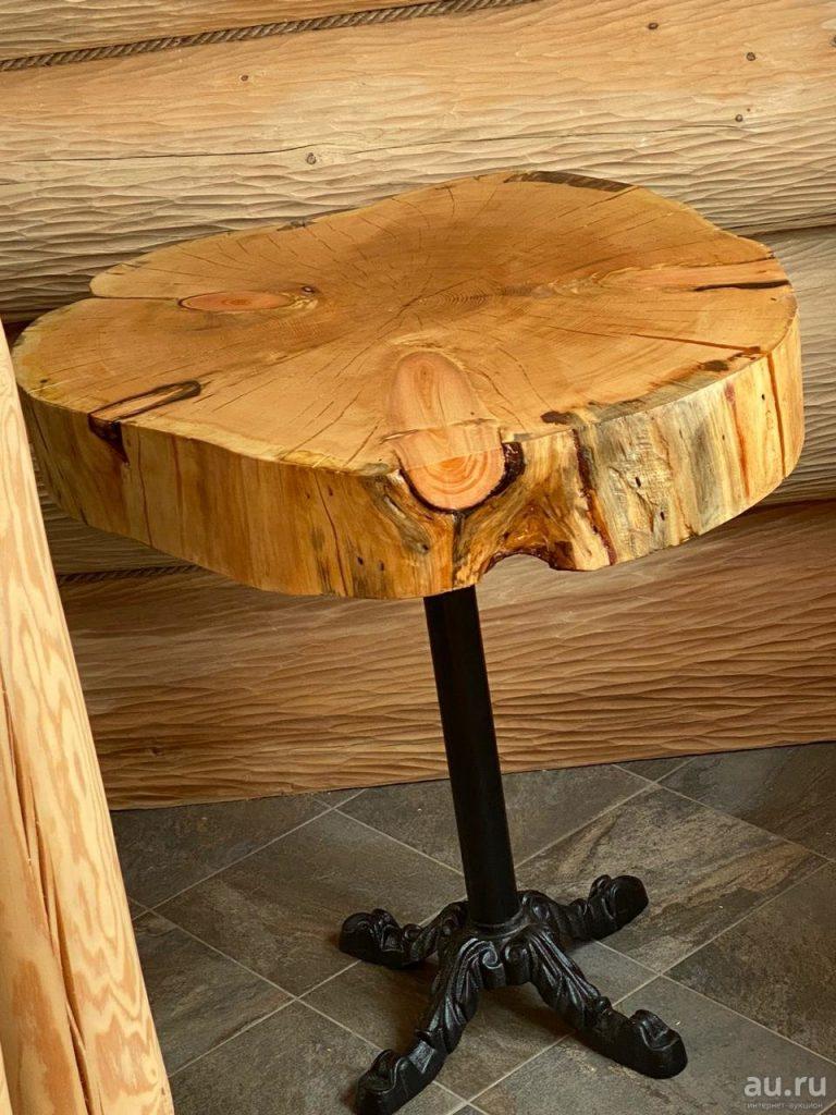 столик из кедра