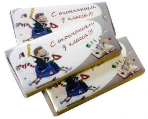 Шоколад выпускной 2