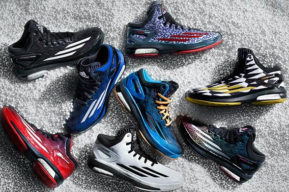 Разнообразие кроссовок